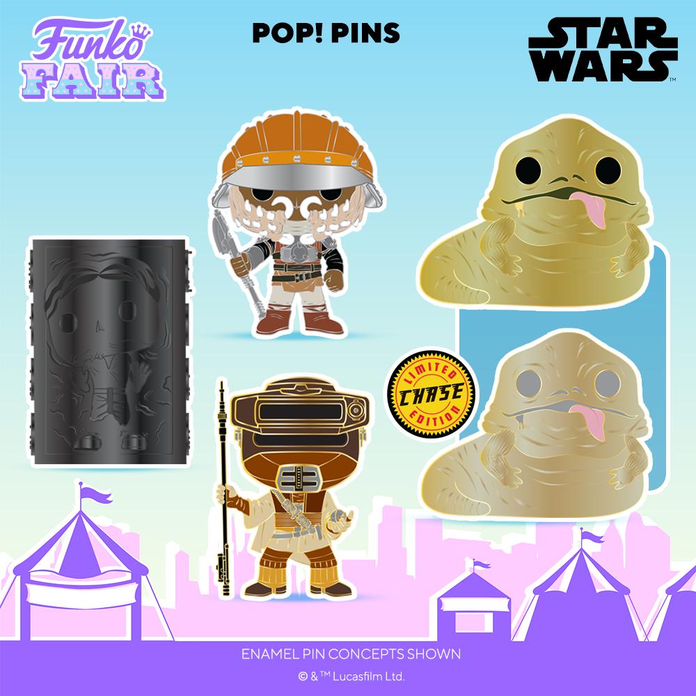 Funko Fair 2021 Pin's POP Star Wars