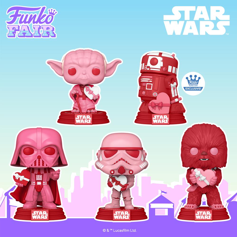 Funko Fair 2021 POP Star Wars Saint Valentin