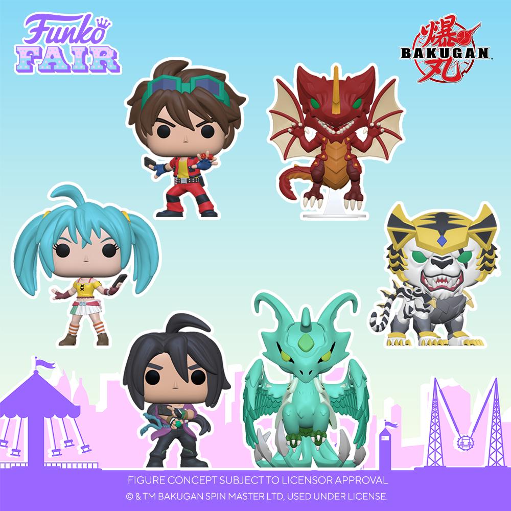 Funko Fair 2021 - POP Bakugan