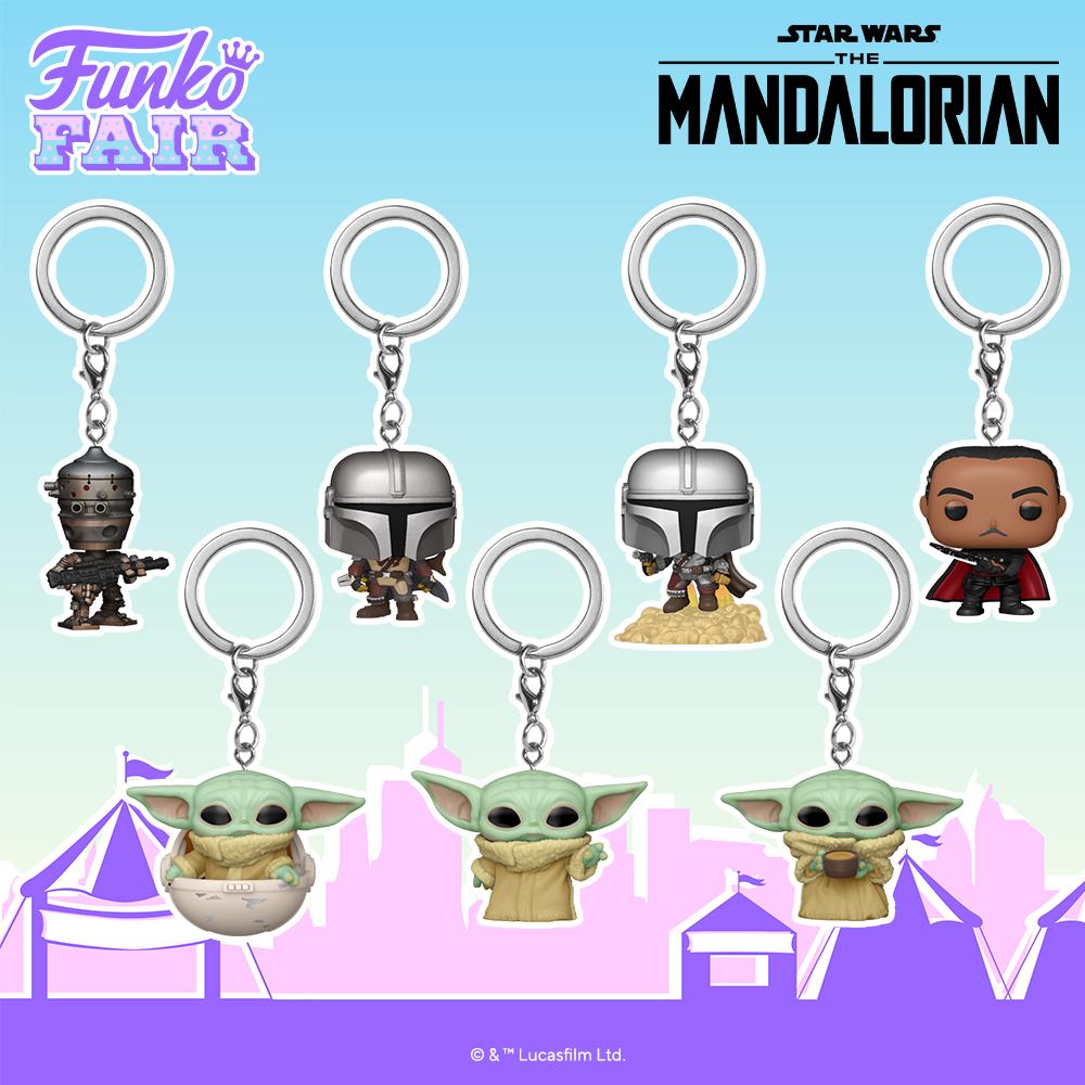 Funko Fair 2021 POP Keychain The Mandalorian