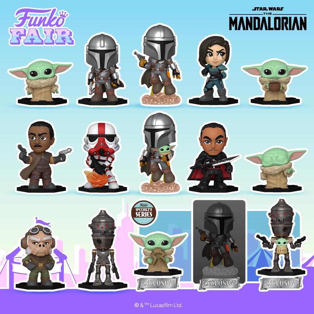 Funko Fair 2021 Mystery The Mandalorian
