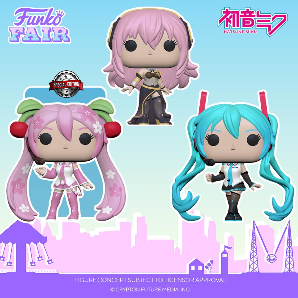 Funko Fair 2021 - POP POP Vocaloid