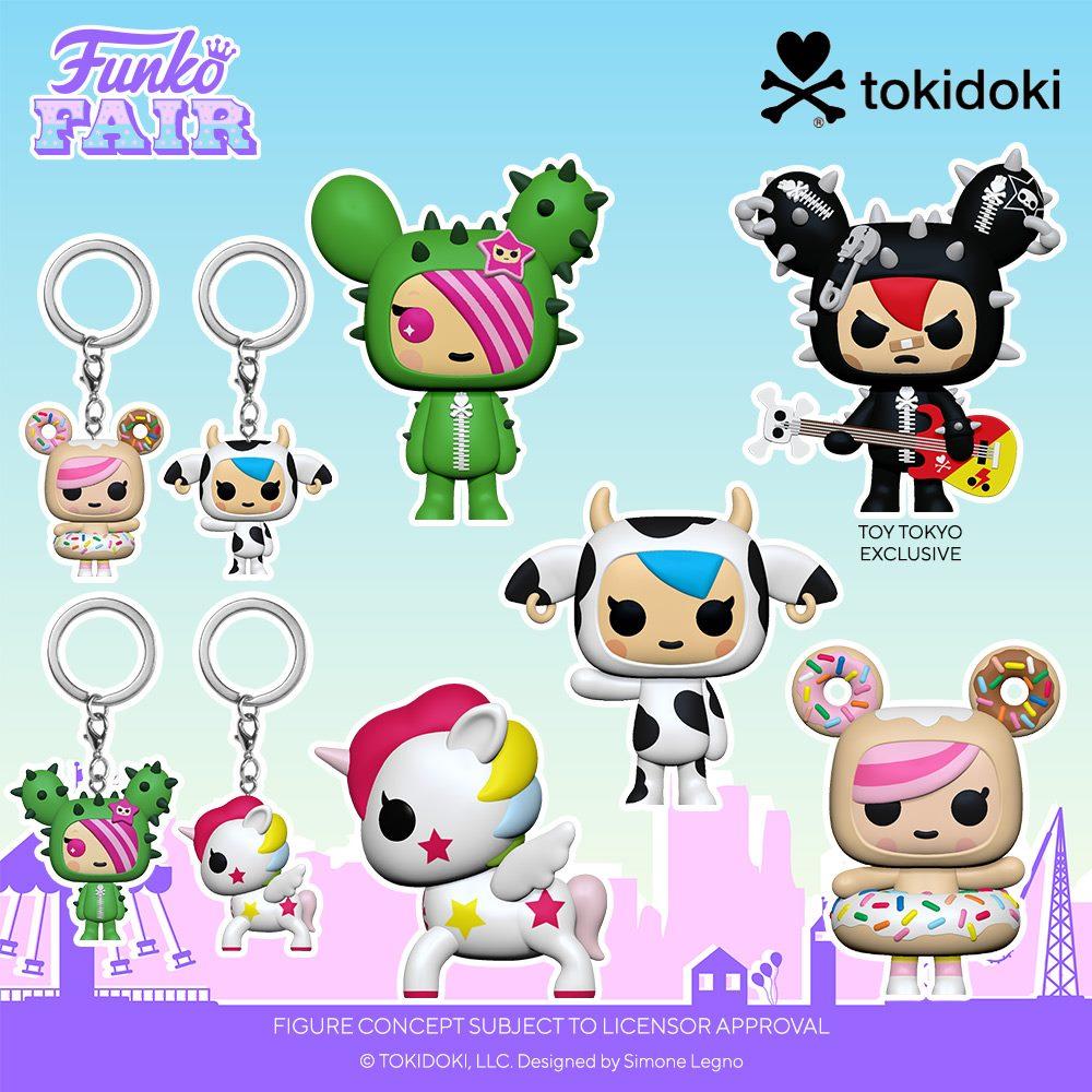 Funko Fair 2021 - POP tokidoki