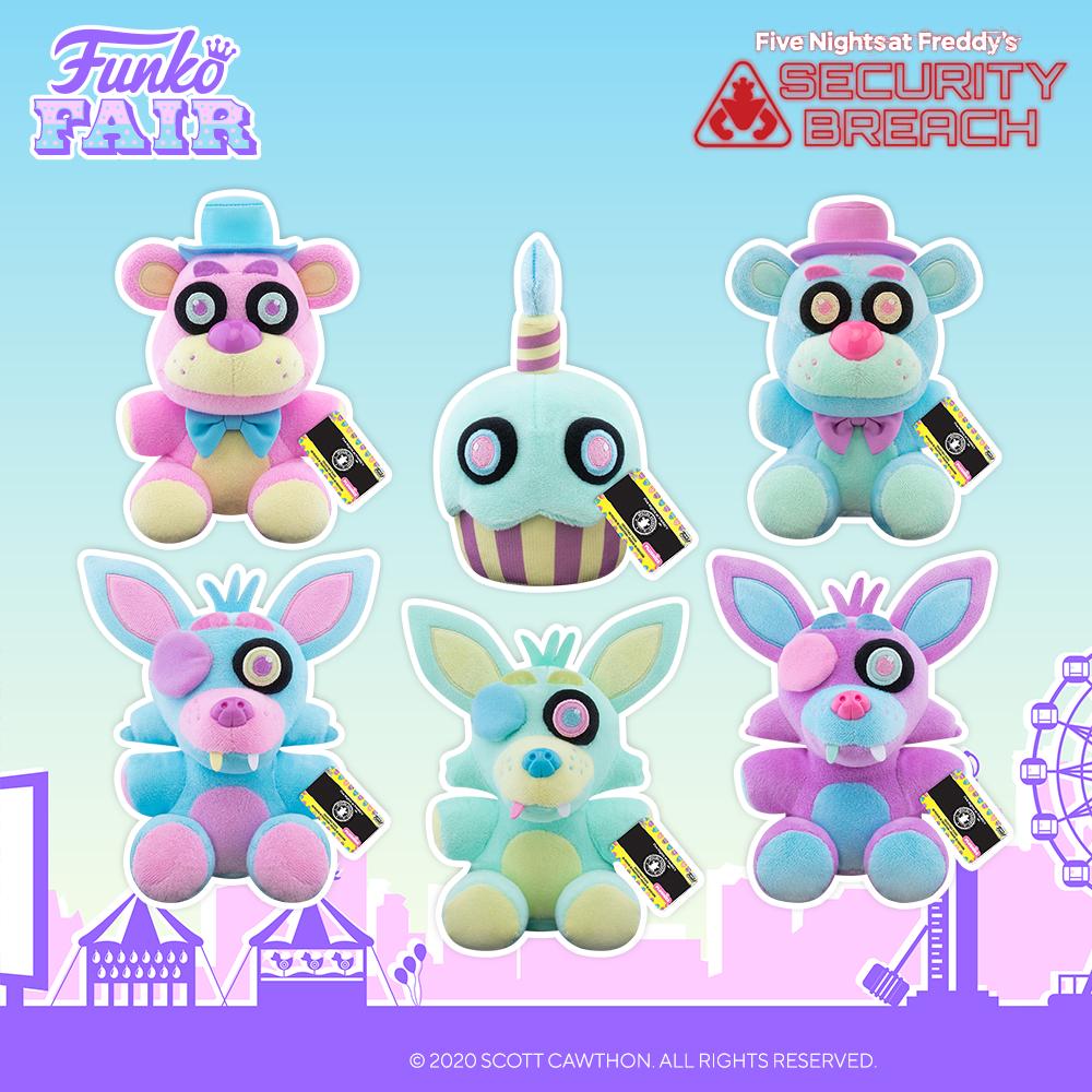 Funko Fair 2021 - FNAF peluche Spring