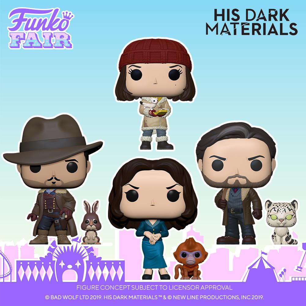 Funko Fair 2021 - POP His Dark Materials
