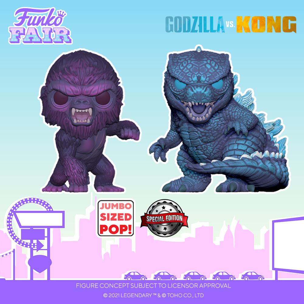 Funko Fair 2021 - POP Godzilla vs Kong 4
