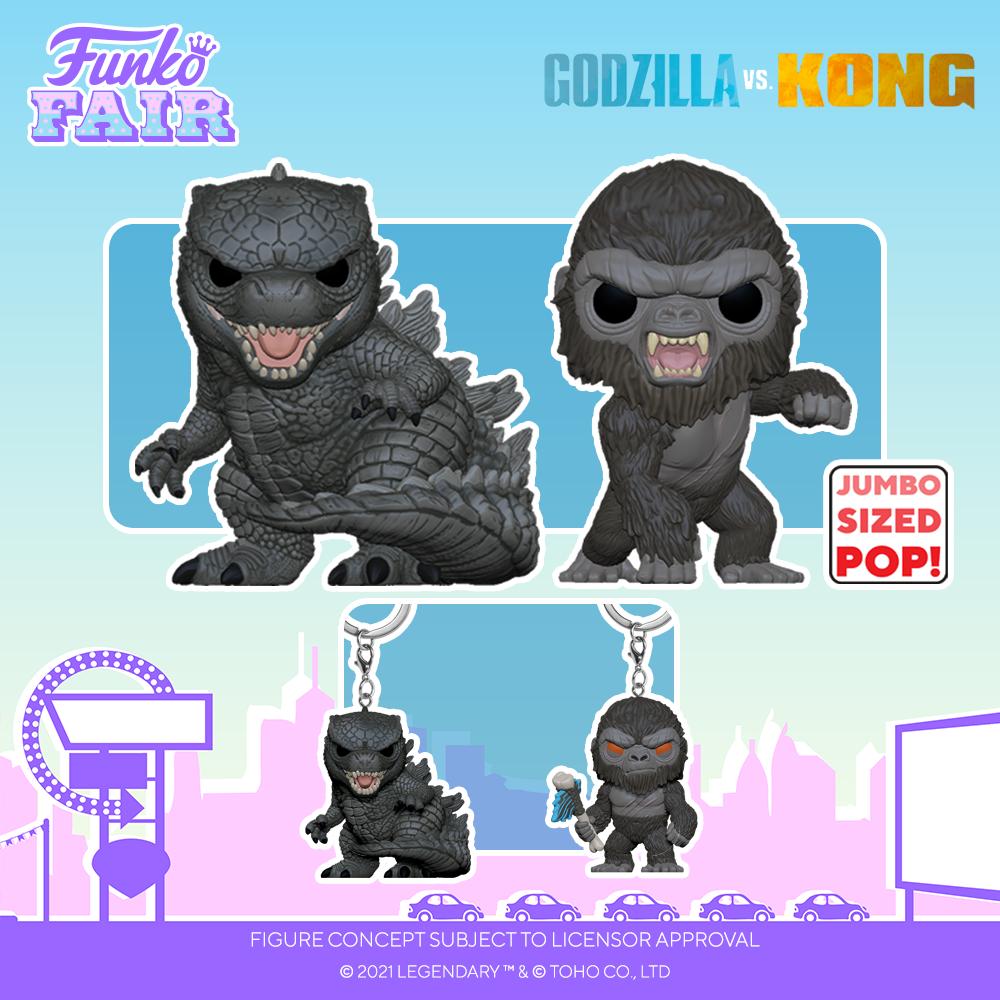 Funko Fair 2021 - POP Godzilla vs Kong 1