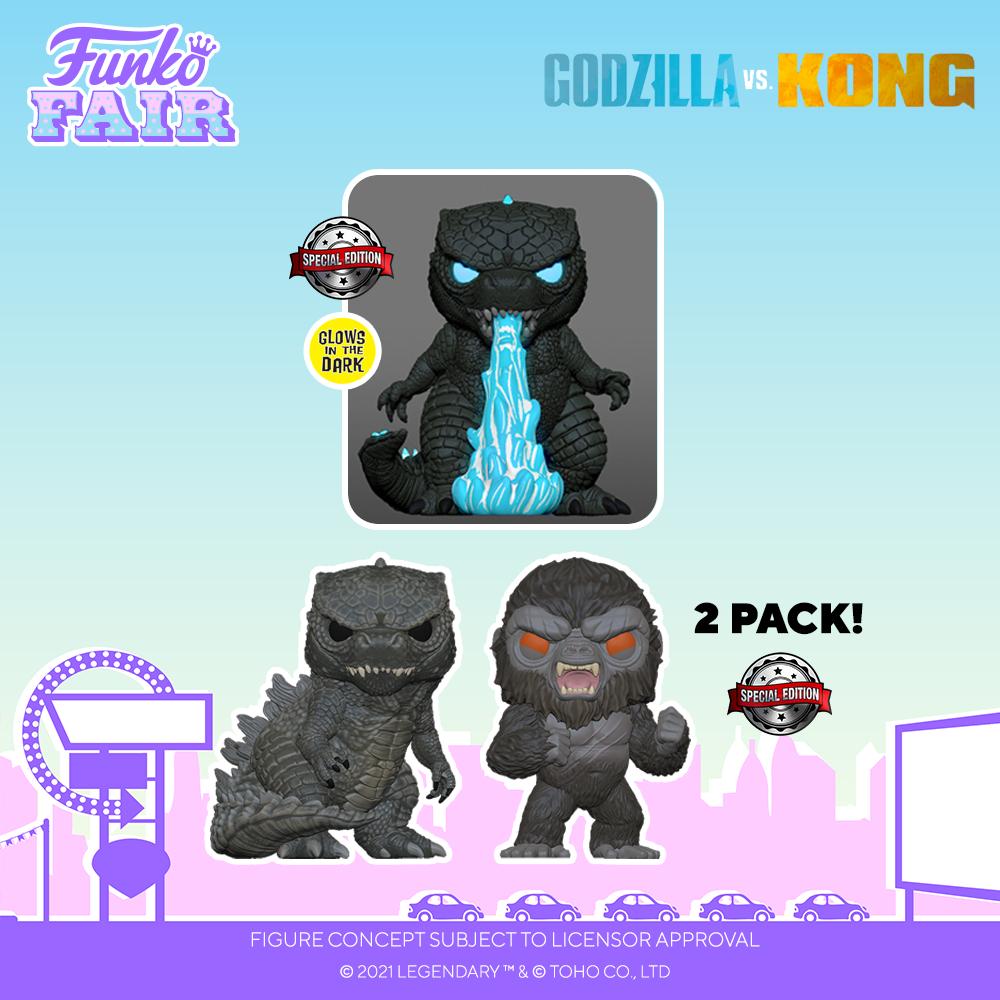 Funko Fair 2021 - POP Godzilla vs Kong 2