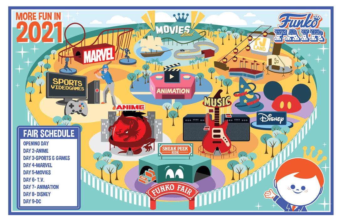 Plan Funko Fair 2021