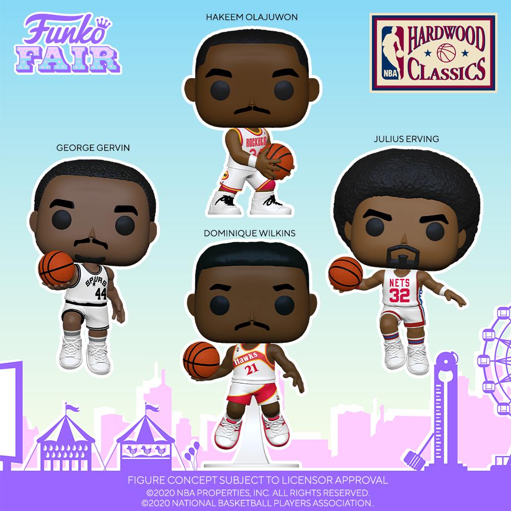 Funko Fair 2021 - POP Basket-ball 1
