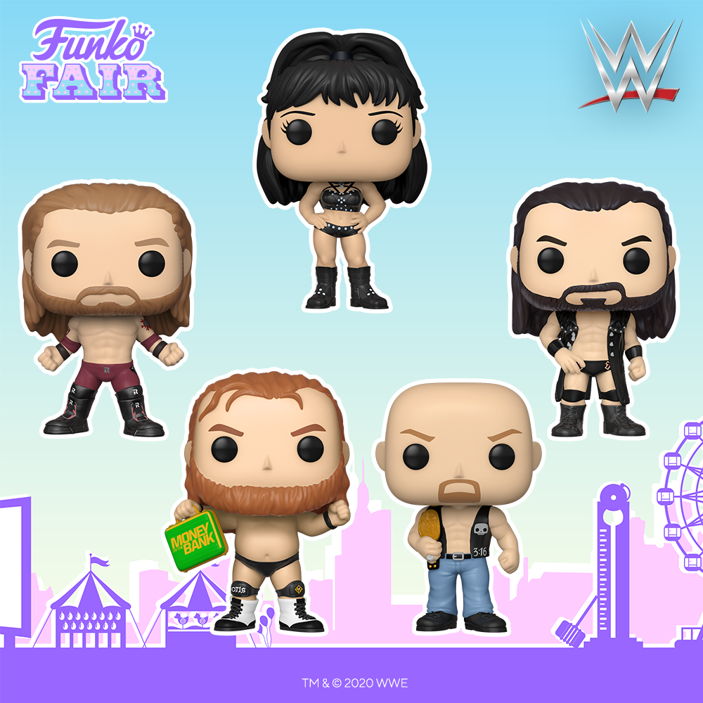 Funko Fair 2021 - POP WWE Catch 1