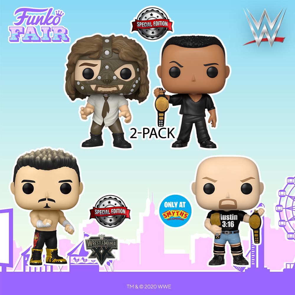 Funko Fair 2021 - POP WWE Catch 2