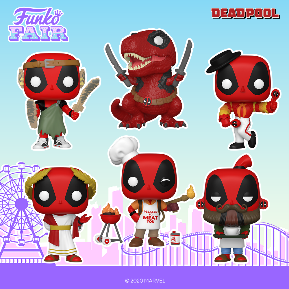 Funko Fair 2021 - POP Deadpool 1