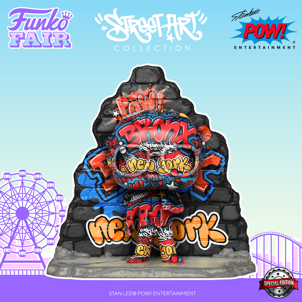 Funko Fair 2021 - POP Street Art Stan Lee
