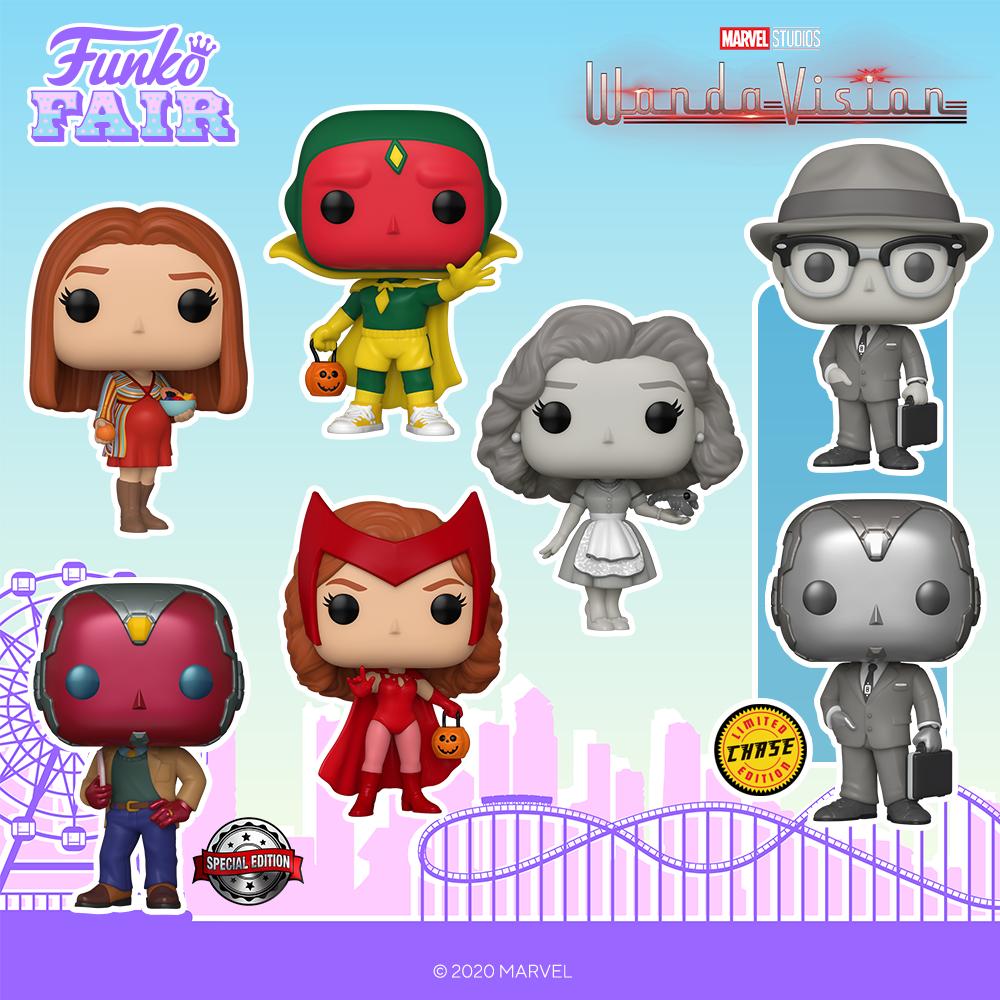 Funko Fair 2021 - POP Wandavision