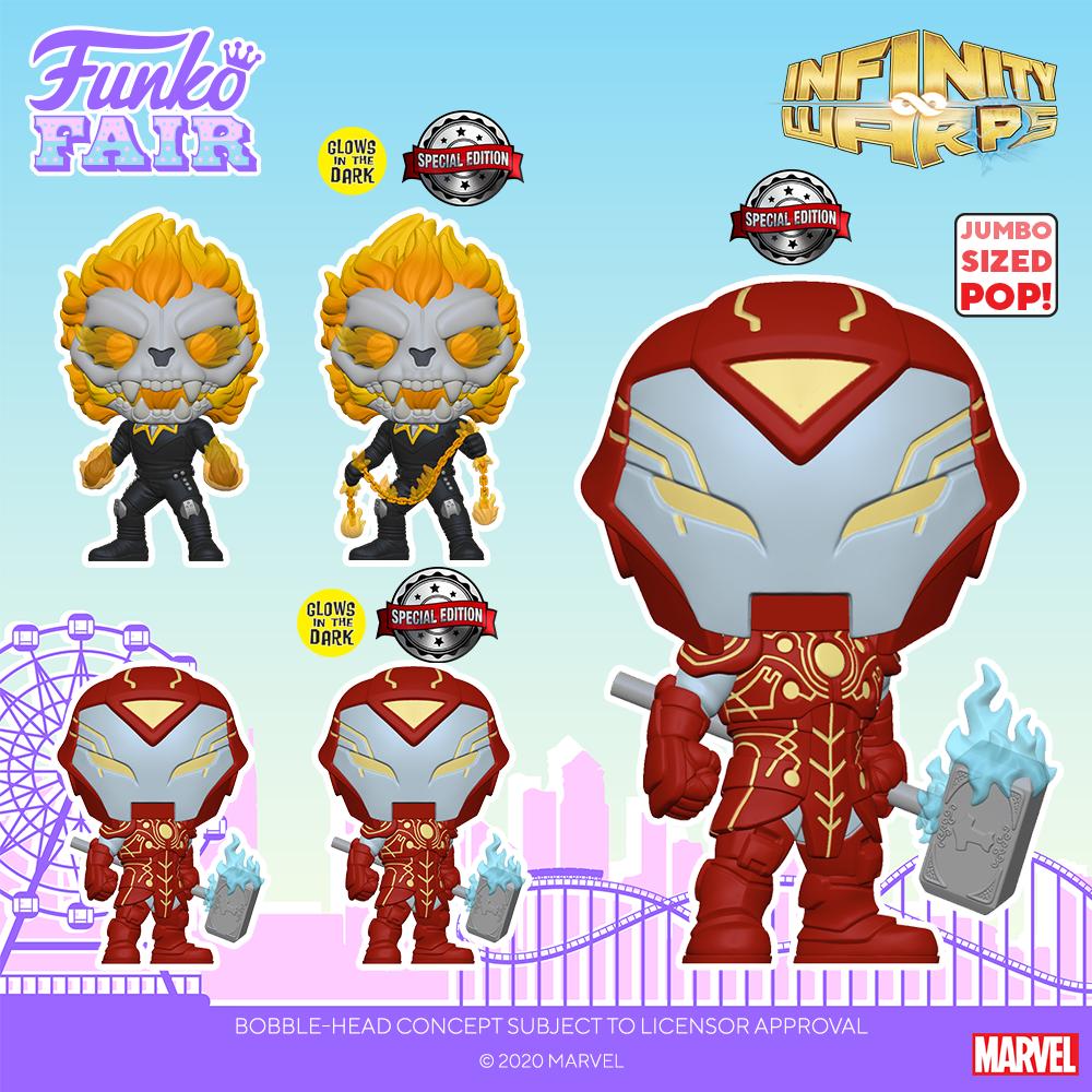 Funko Fair 2021 - POP Infinity Warp 2