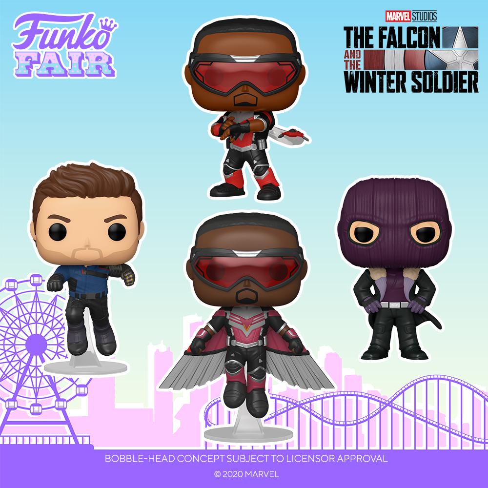 Funko Fair 2021 - POP Faucon et le Soldat de l'Hiver