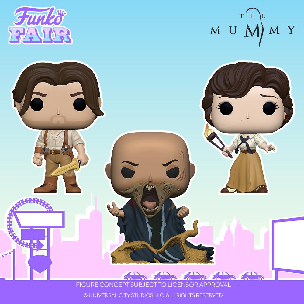Funko Fair 2021 - POP La Momie