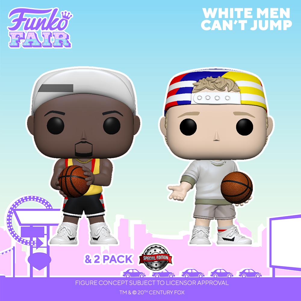Funko Fair 2021 - POP Les Blancs ne savent pas sauter