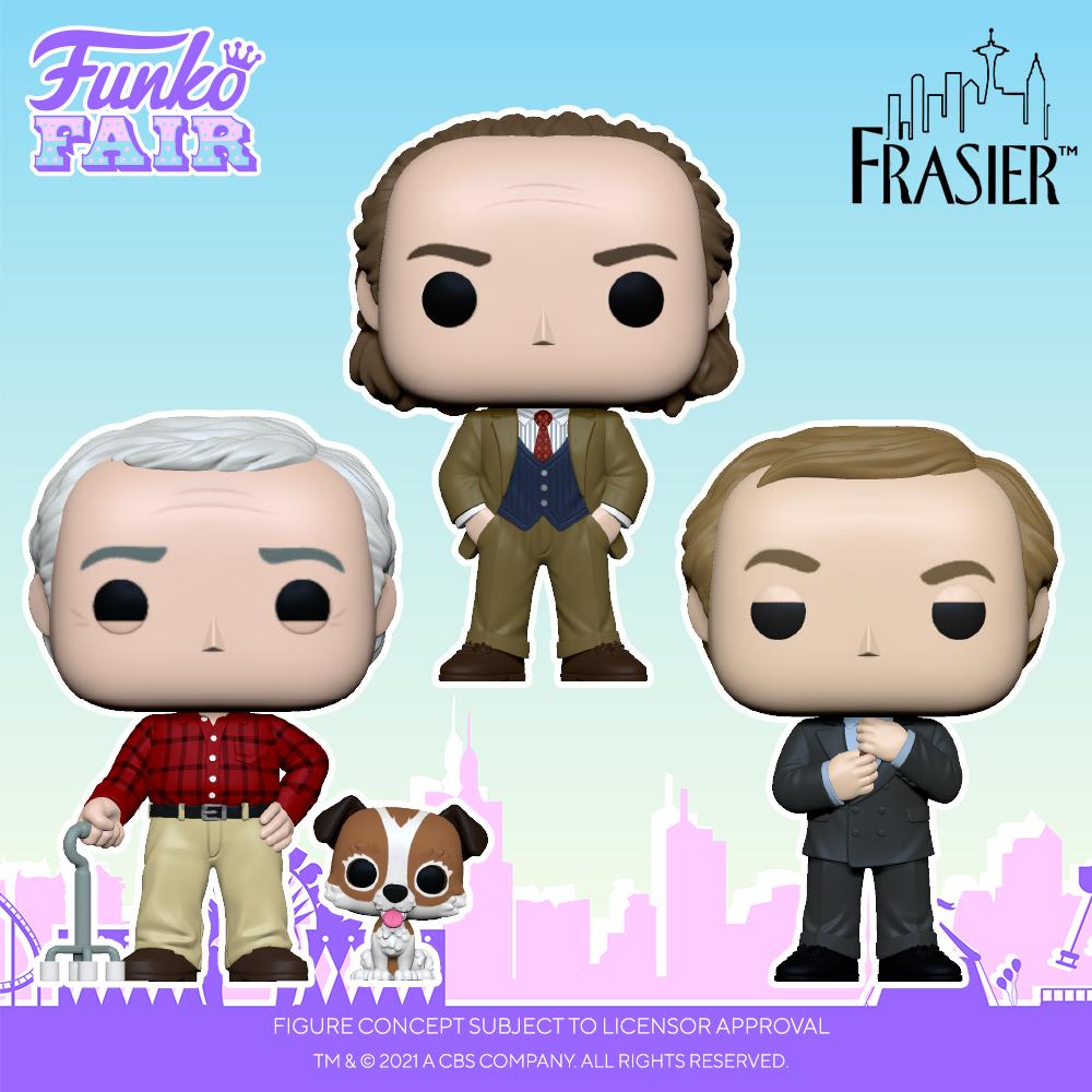Funko Fair 2021 - POP Frasier