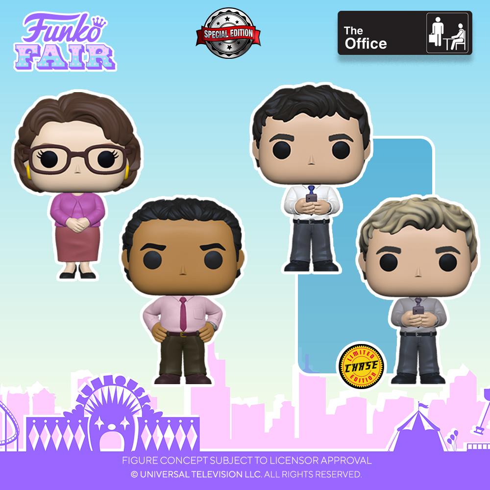 Funko Fair 2021 - POP The Office 1