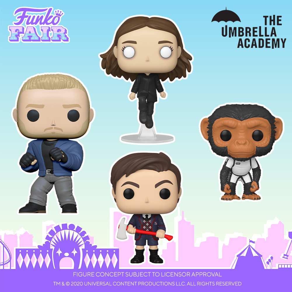 Funko Fair 2021 - POP Umbrella Academy 1