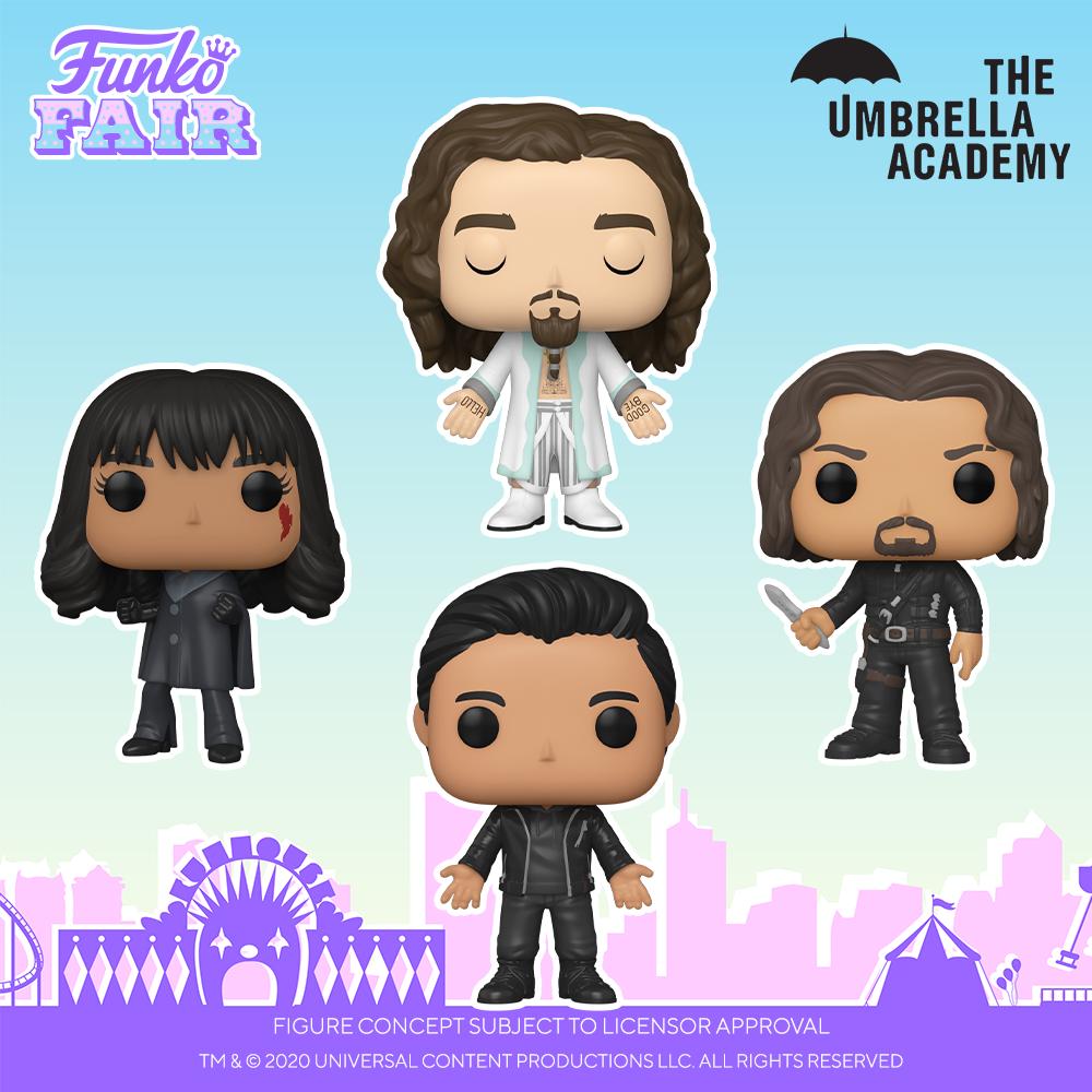Funko Fair 2021 - POP Umbrella Academy 2