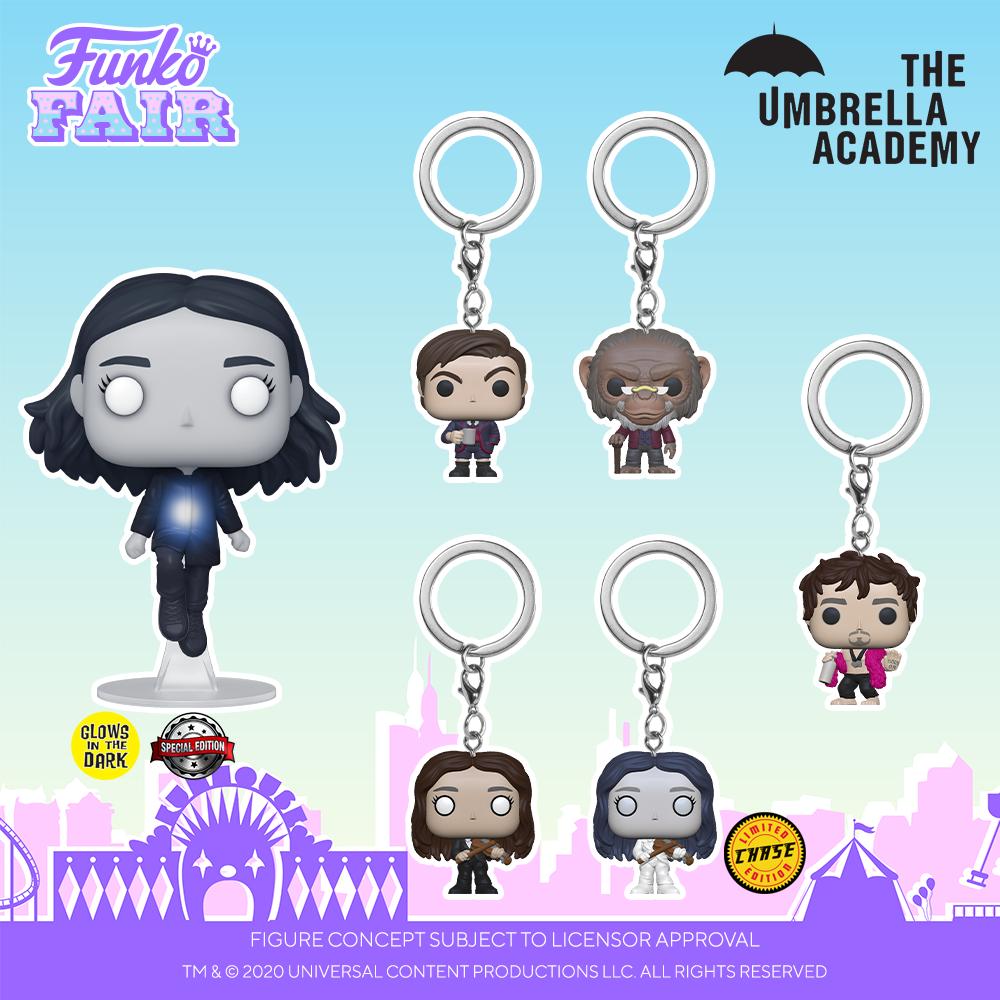Funko Fair 2021 - POP Umbrella Academy 3