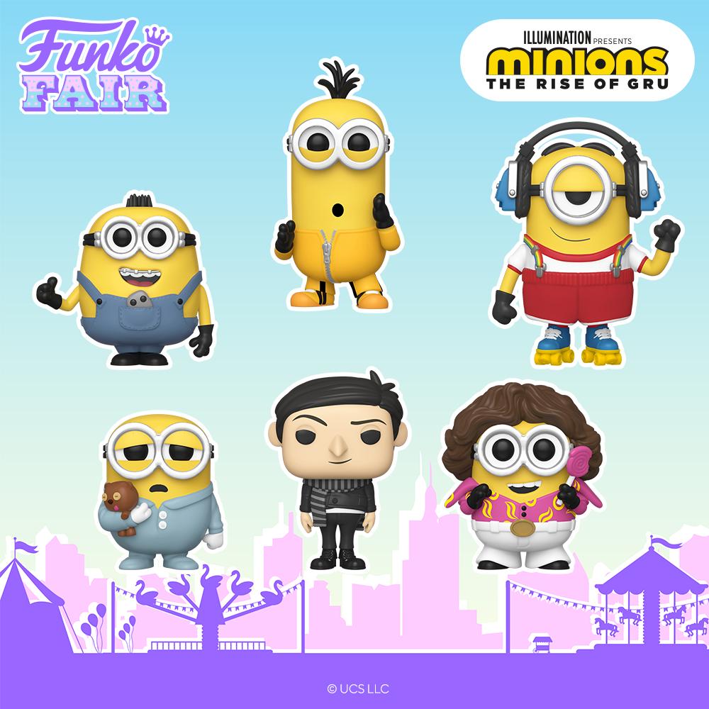Funko Fair 2021 - Les Minions