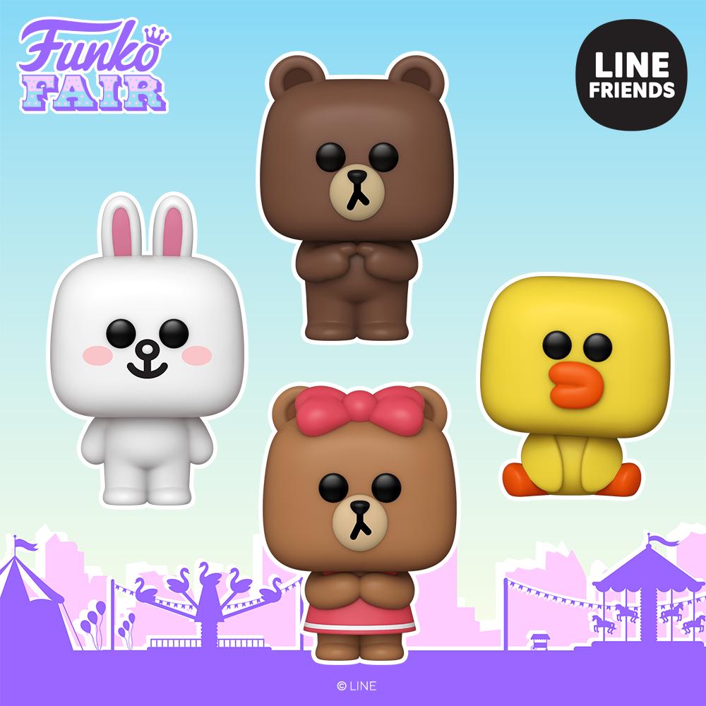 Funko Fair 2021 - POP Line Friends