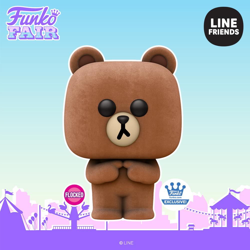 Funko Fair 2021 - POP Line Friends Brown