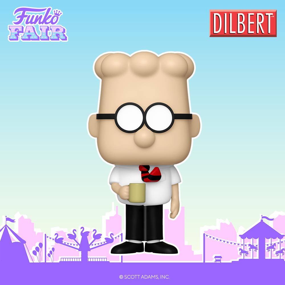 Funko Fair 2021 - POP Dilbert