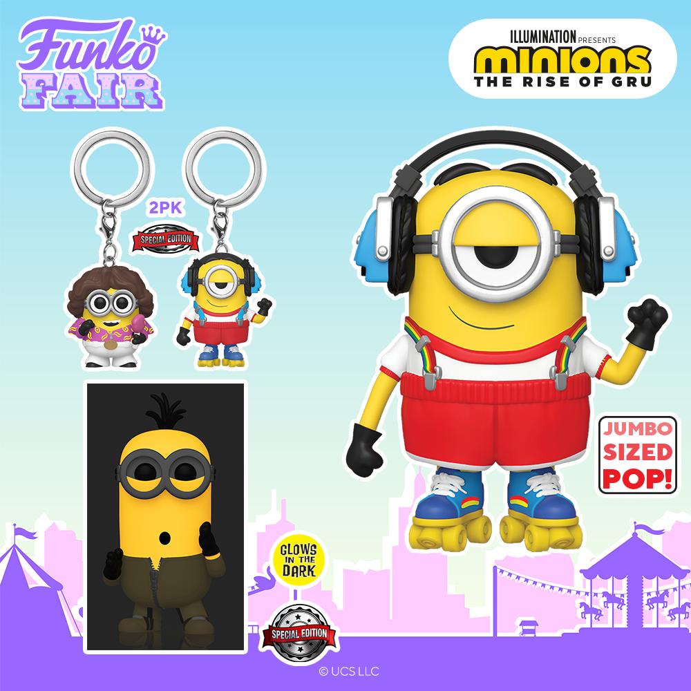 Funko Fair 2021 - Les Minions 2