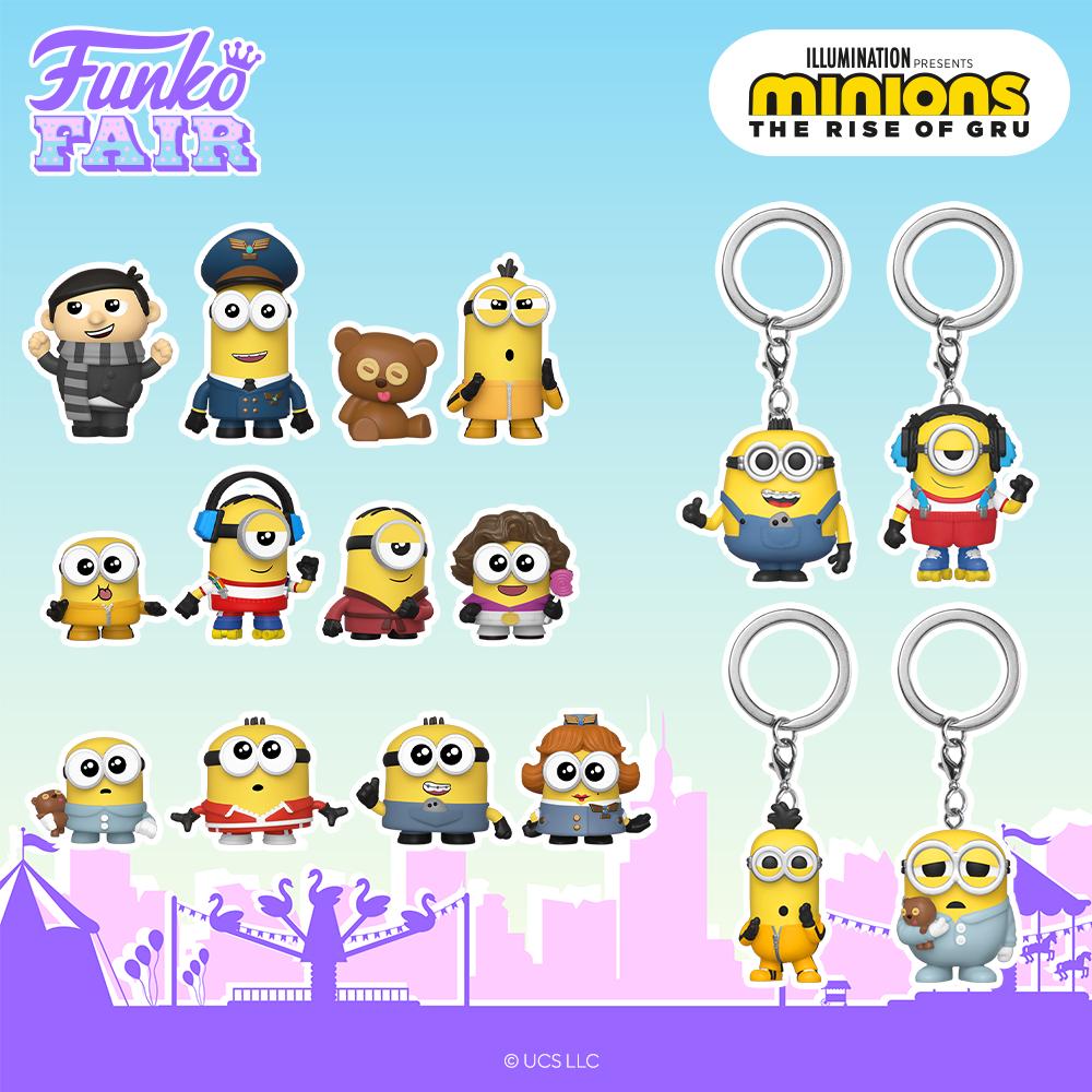 Funko Fair 2021 - Mystery Les Minions