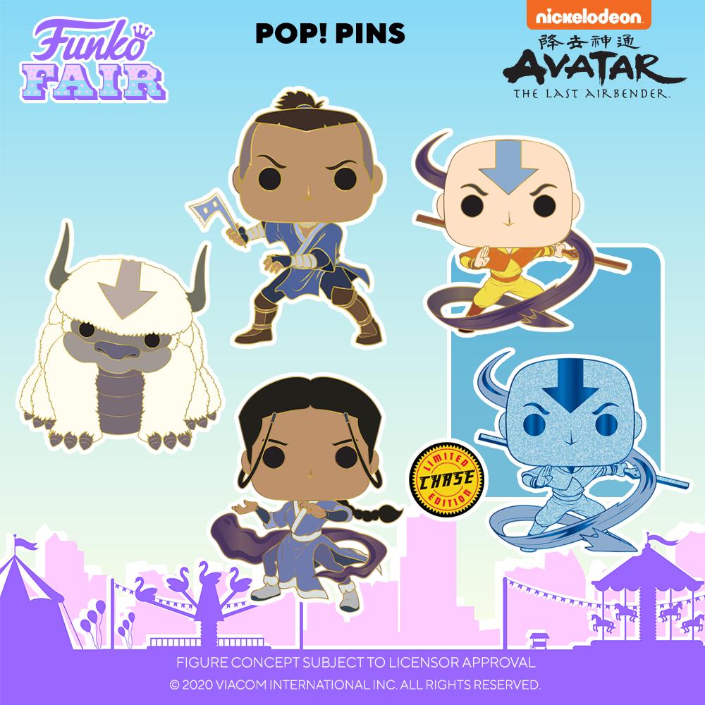 Funko Fair 2021 - POP Pin's Avatar