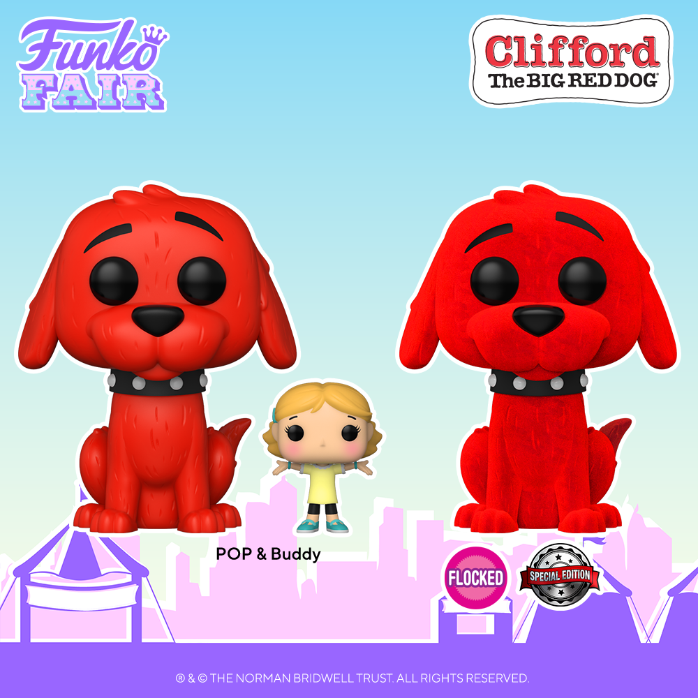 Funko Fair 2021 - POP Clifford