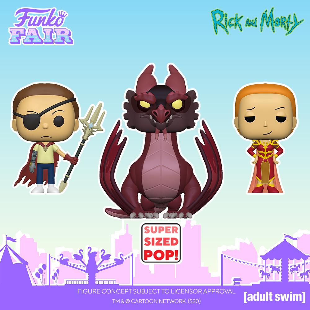 Funko Fair 2021 - POP Rick and Morty