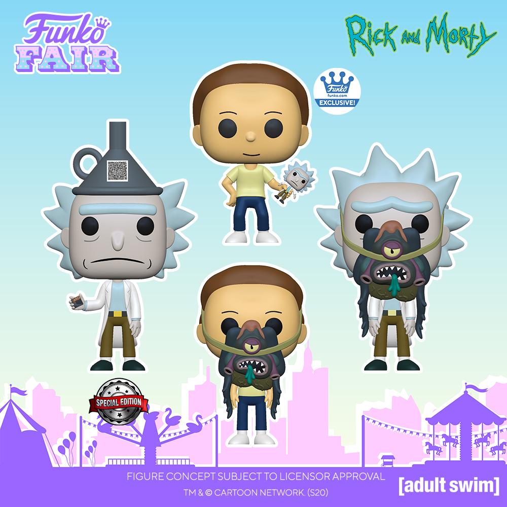Funko Fair 2021 - POP Rick et Morty