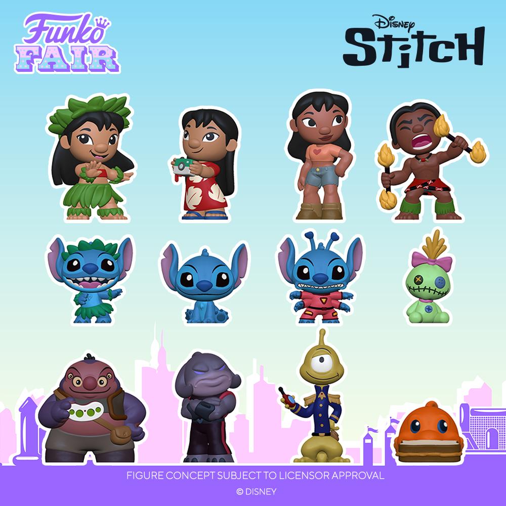 Funko Fair 2021 - Mystery Minis Lilo & Stitch