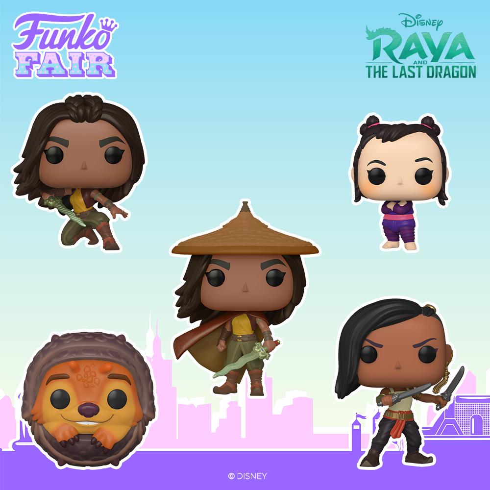 Funko Fair 2021 - POP Raya et le dernier Dragon