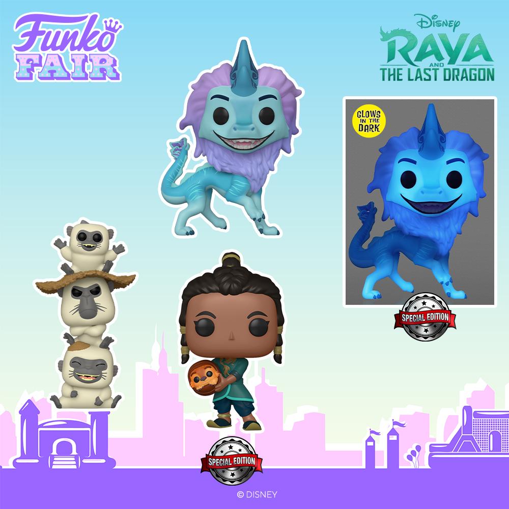 Funko Fair 2021 - POP Raya and the last Dragon