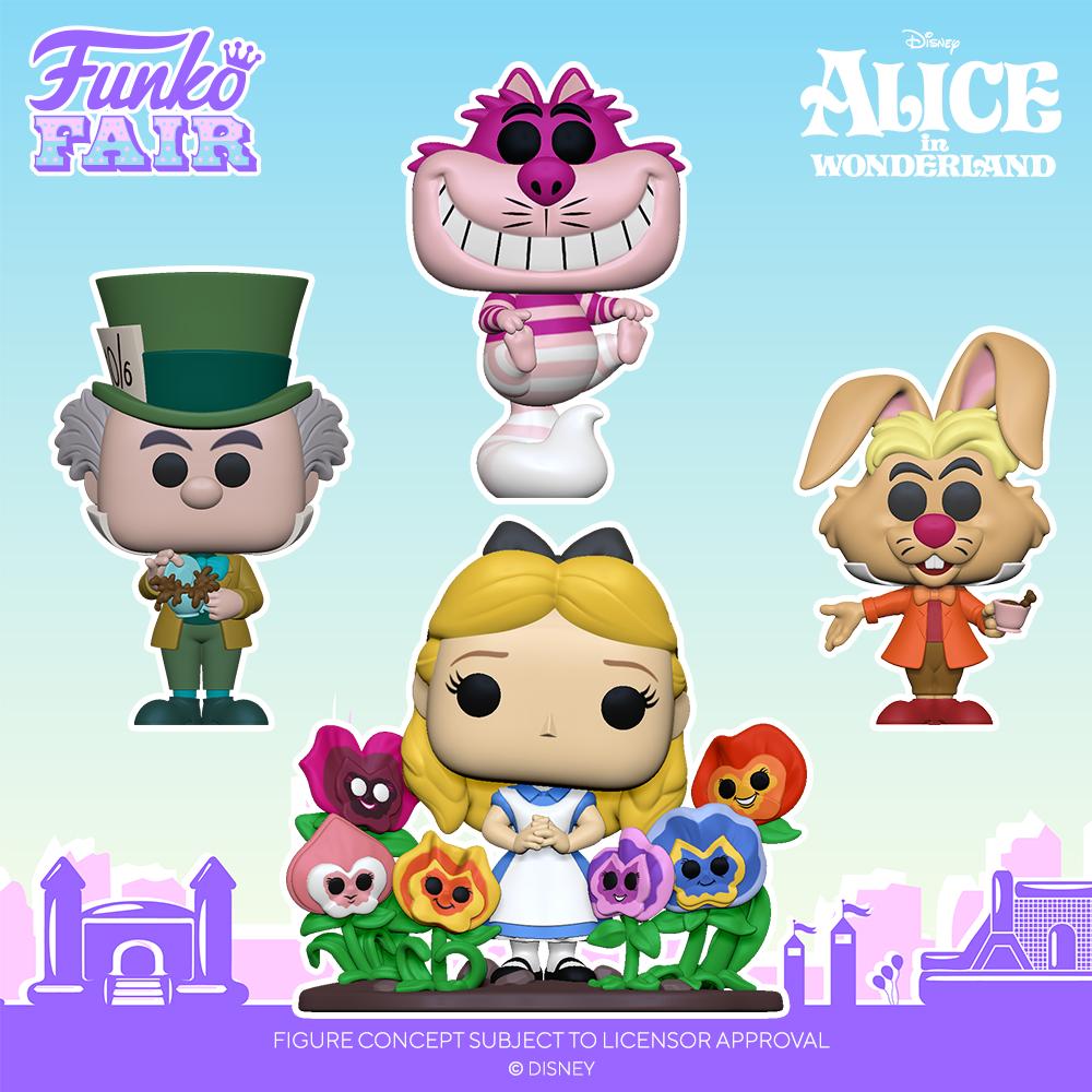Funko Fair 2021 - POP Alice au pays des Merveilles