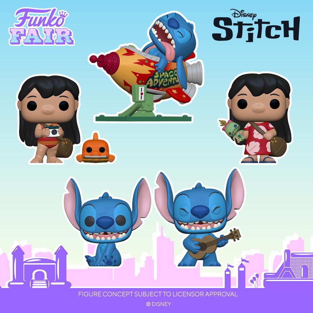 Funko Fair 2021 - POP Lilo & Stitch 1