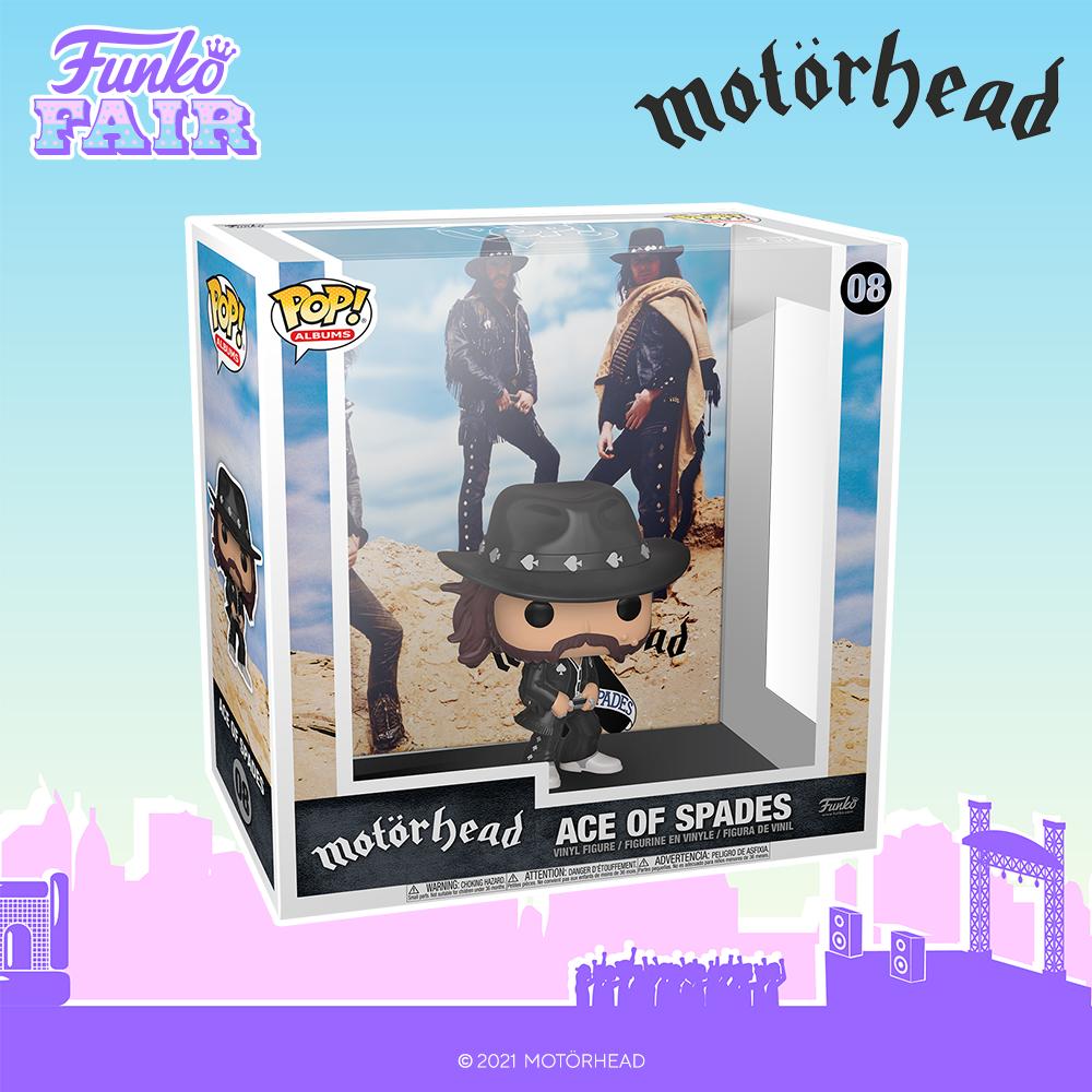 Funko Fair 2021 - POP Motorhead