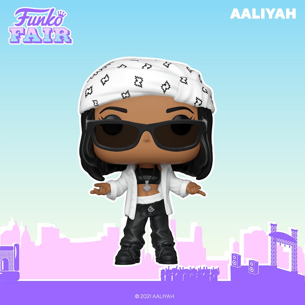 Funko Fair 2021 - POP Aaliyah