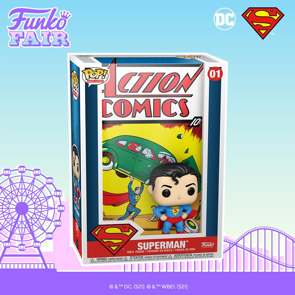 Funko Fair 2021 - POP Superman