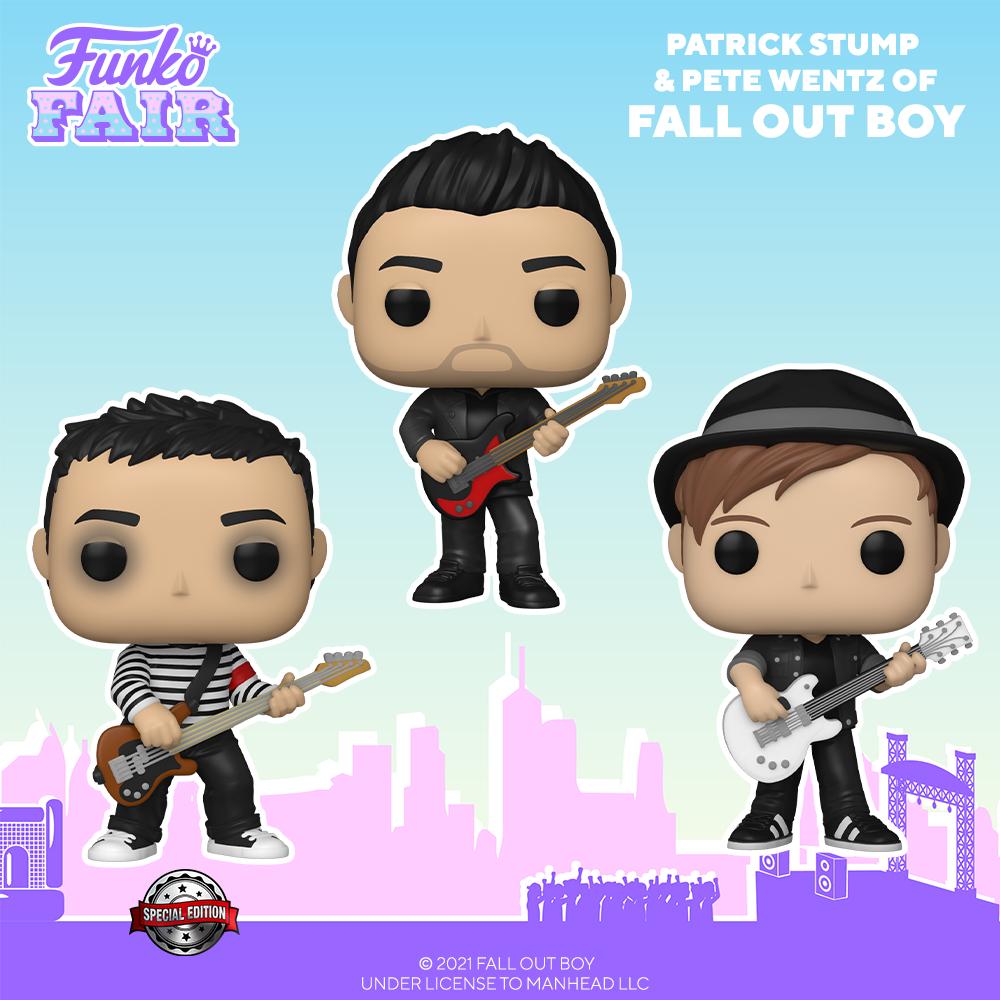 Funko Fair 2021 - POP Fall Out Boy
