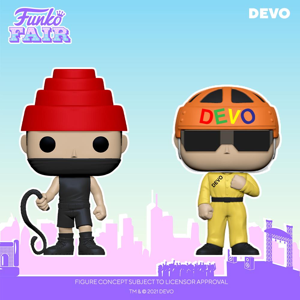 Funko Fair 2021 - POP Devo