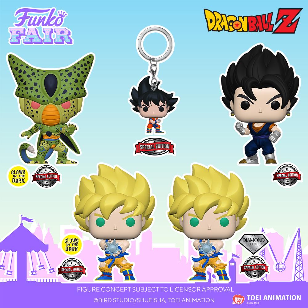Funko Fair 2021 - POP Dragon Ball Z Special Edition