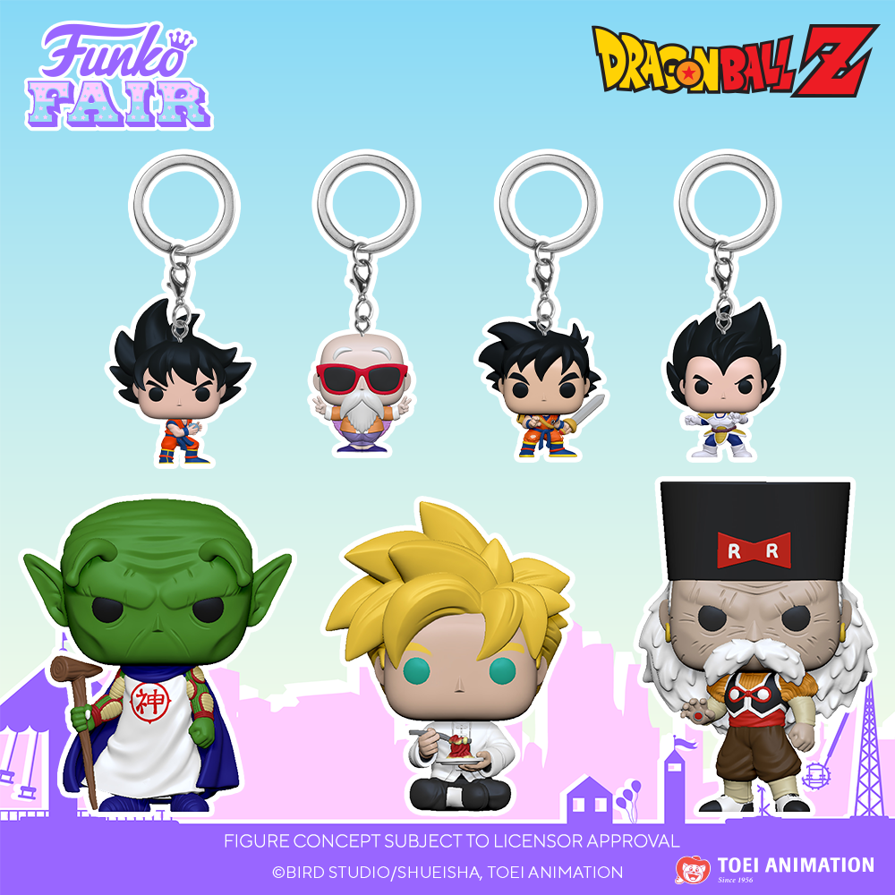 Funko Fair 2021 - POP Dragon Ball Z et Pocket POP Keychain